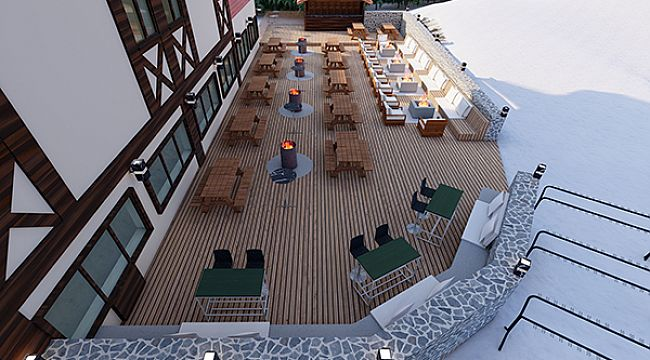 Dedeman Palandöken otelleri yenilendi