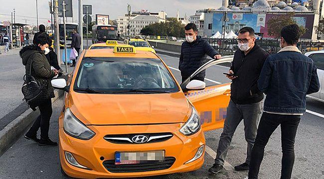 Taksilere sivil zabıta denetimi