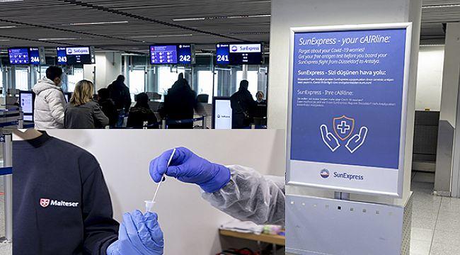 Uçuş öncesi antijen testi denemelerine başladı