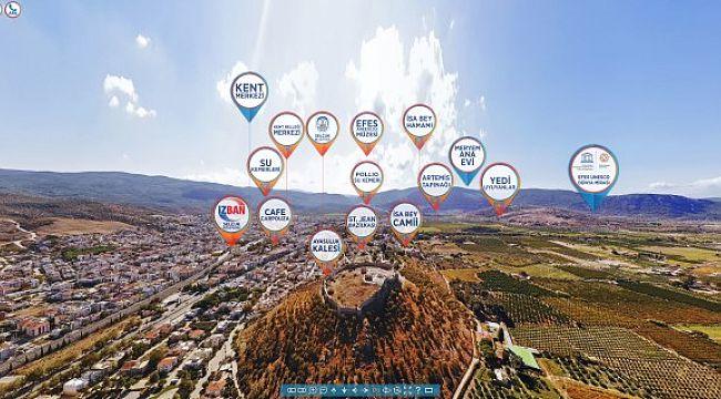 Efes Selçuk  360° sanal tur ile turizmde yeni bir dönem