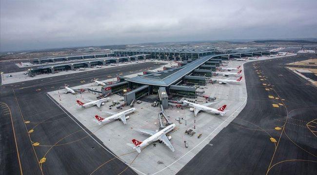 İstanbul Havalimanı Avrupa'da ilk sırada
