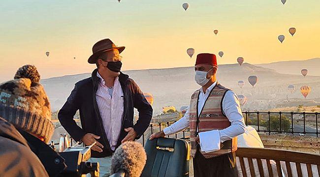Kapadokya, dünyaca ünlü seyahat programında tanıtıldı