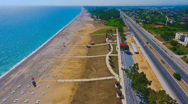 Kızılot Halk Plajı 10 yıllığına kiralandı