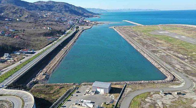 Ordu-Giresun Havalimanı'nın yanına Su Sporları Merkezi