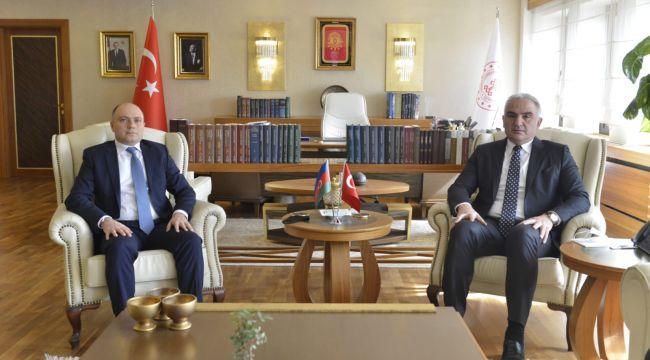 Ersoy, ''İlk fırsatta Karabağ'ı ziyaret edeceğiz''
