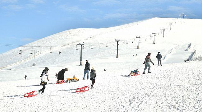 Kayak Merkezi'ne ''Günü Birlik'' misafirler alınmayacak