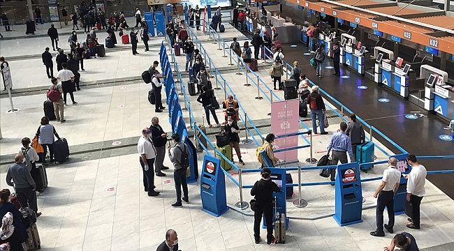 Pandemide İSG'den 13 milyon yolcu seyahat etti