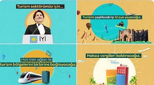 Akşener'den turizmi kalkındırmak için 3 öneri