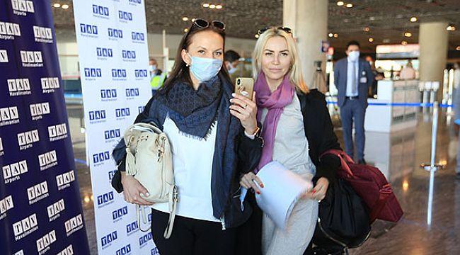 Bodrum'a sezonun ilk dış hat uçuşu Moskova'dan