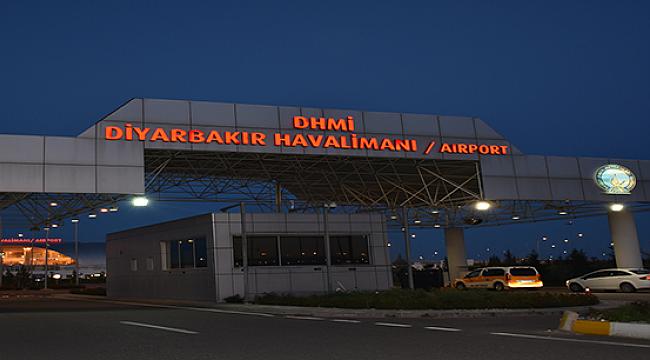 Diyarbakır Havalimanı uçuş trafiğine kapatılıyor