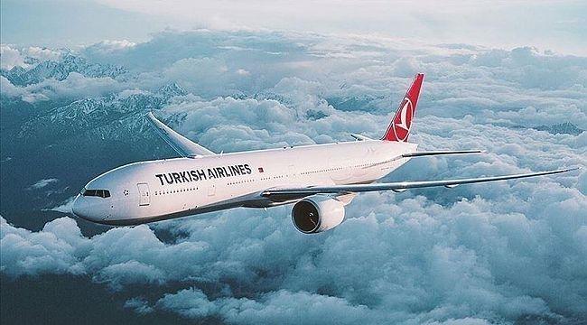 THY 493 uçuşla Avrupa'da birinci sırada yer aldı