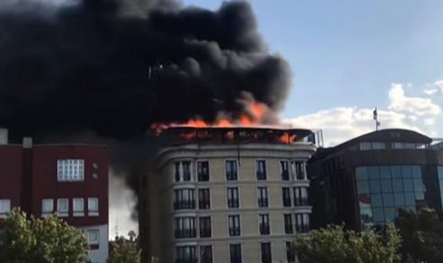 Ankara'da bir otelde yangın çıktı