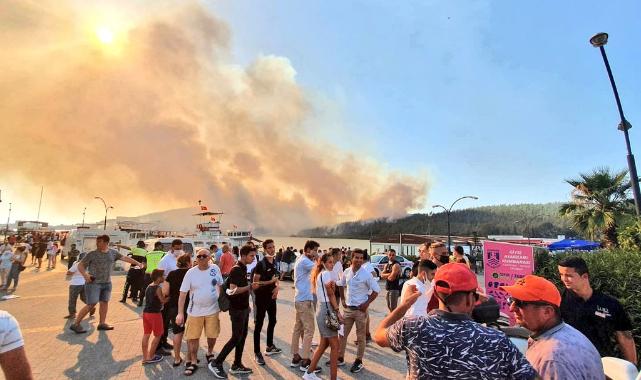 Bodrum'dan 100'e yakın Rus turist tahliye edildi