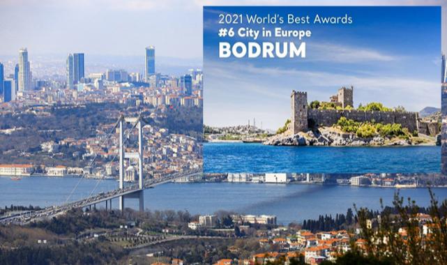 Bu yıl listede İstanbul ve Bodrum'da var