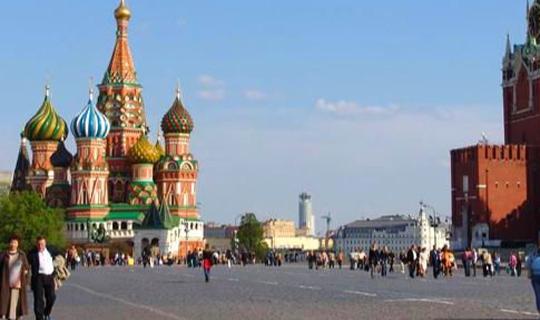 Avrupa'nın en turistik şehri Moskova